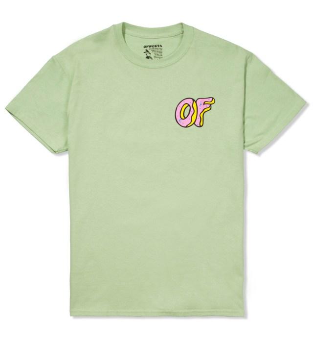 Odd Future Mint Green OF Donut T-Shirt