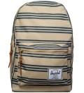 Herschel Supply Co. Navy/Khaki Stripe Settlement Plus Backpack