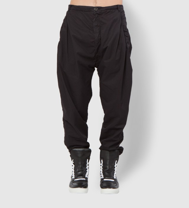 SILENT DAMIR DOMA Black Peyotl MNS Pleated Pants