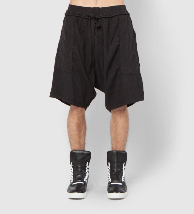 SILENT DAMIR DOMA Black Poff MNS Padded Shorts