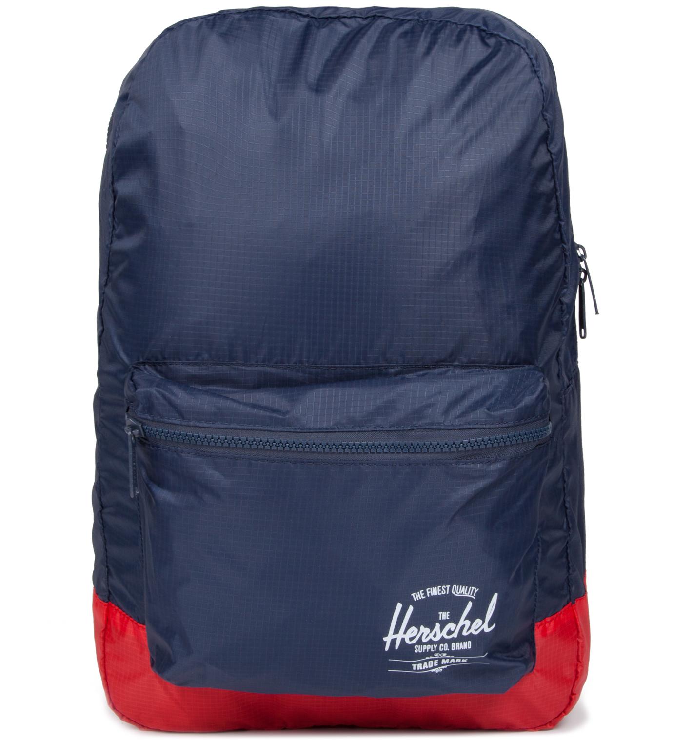 Herschel Supply Co. Navy/Red Packable Daypack