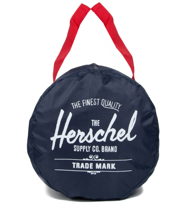 Herschel Supply Co. Navy/Red Packable Duffle Bag