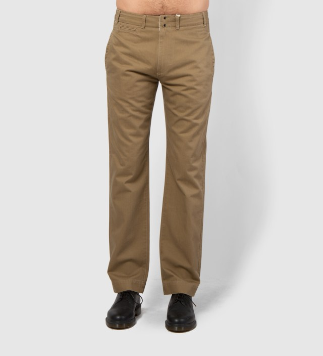 GARBSTORE Tan Five Jet Chino Pant