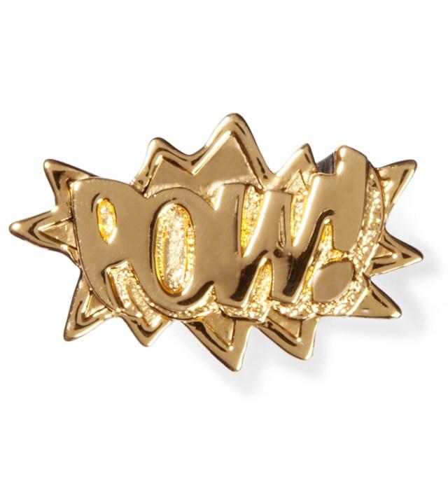AMBUSH Gold/Black POW! Ring Season6
