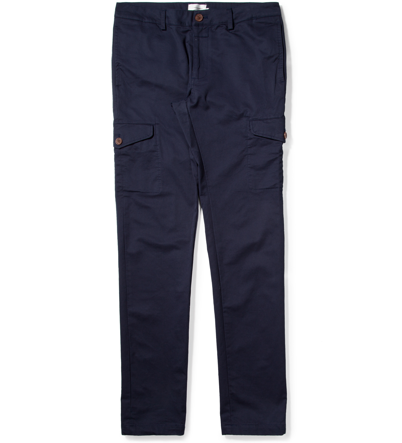 Shades of Grey by Micah Cohen Navy Cargo Pant
