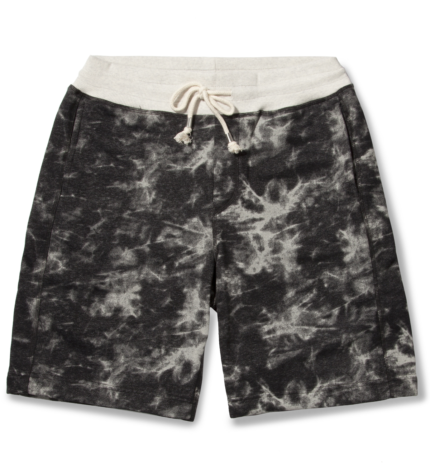 Shades of Grey by Micah Cohen Blackwater Tie-dye Sweatshort