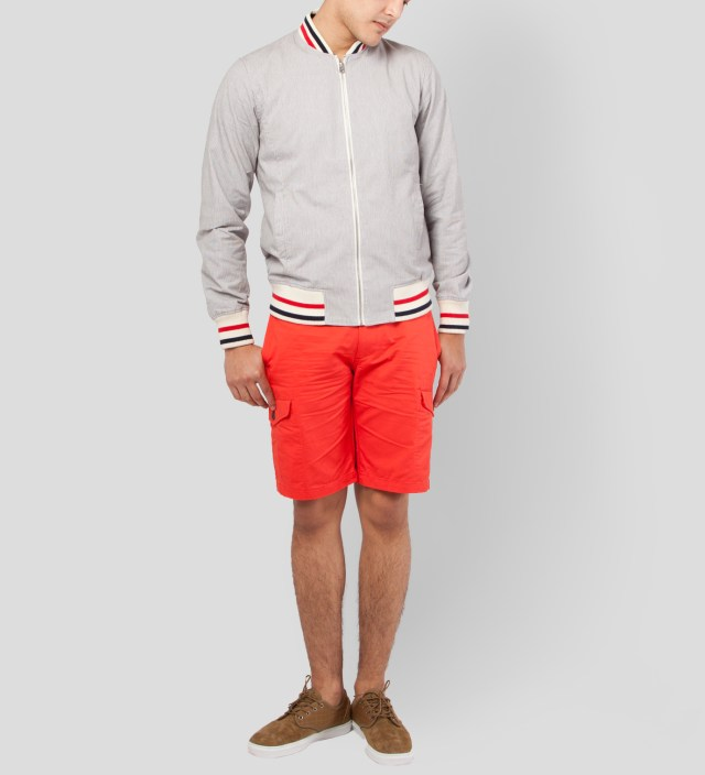 Shades of Grey by Micah Cohen Coral Cargo Short