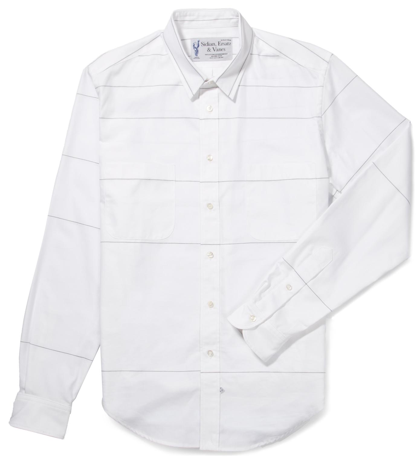 Sidian, Ersatz & Vanes Grey/Black Lines Shirt