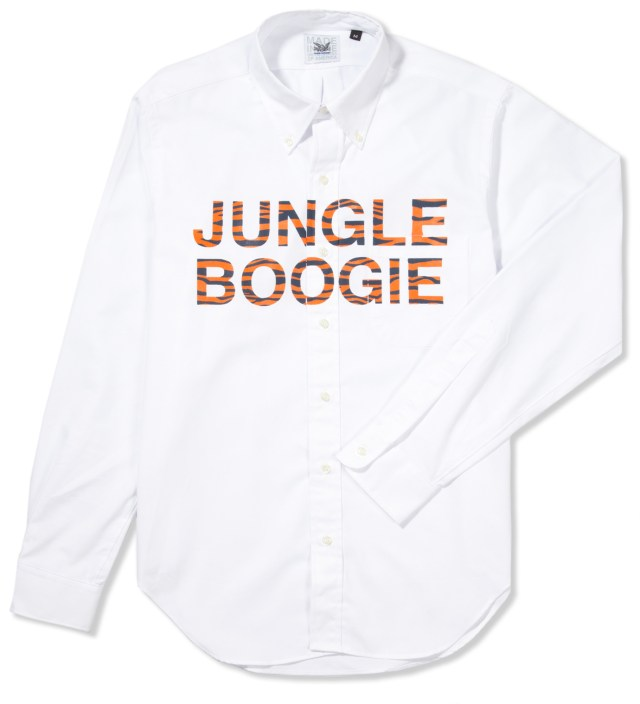 Mark McNairy Jungle Boogie Printed Oxford