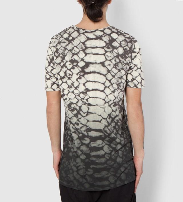 SILENT DAMIR DOMA Thujades MNS Basic Printed T-Shirt
