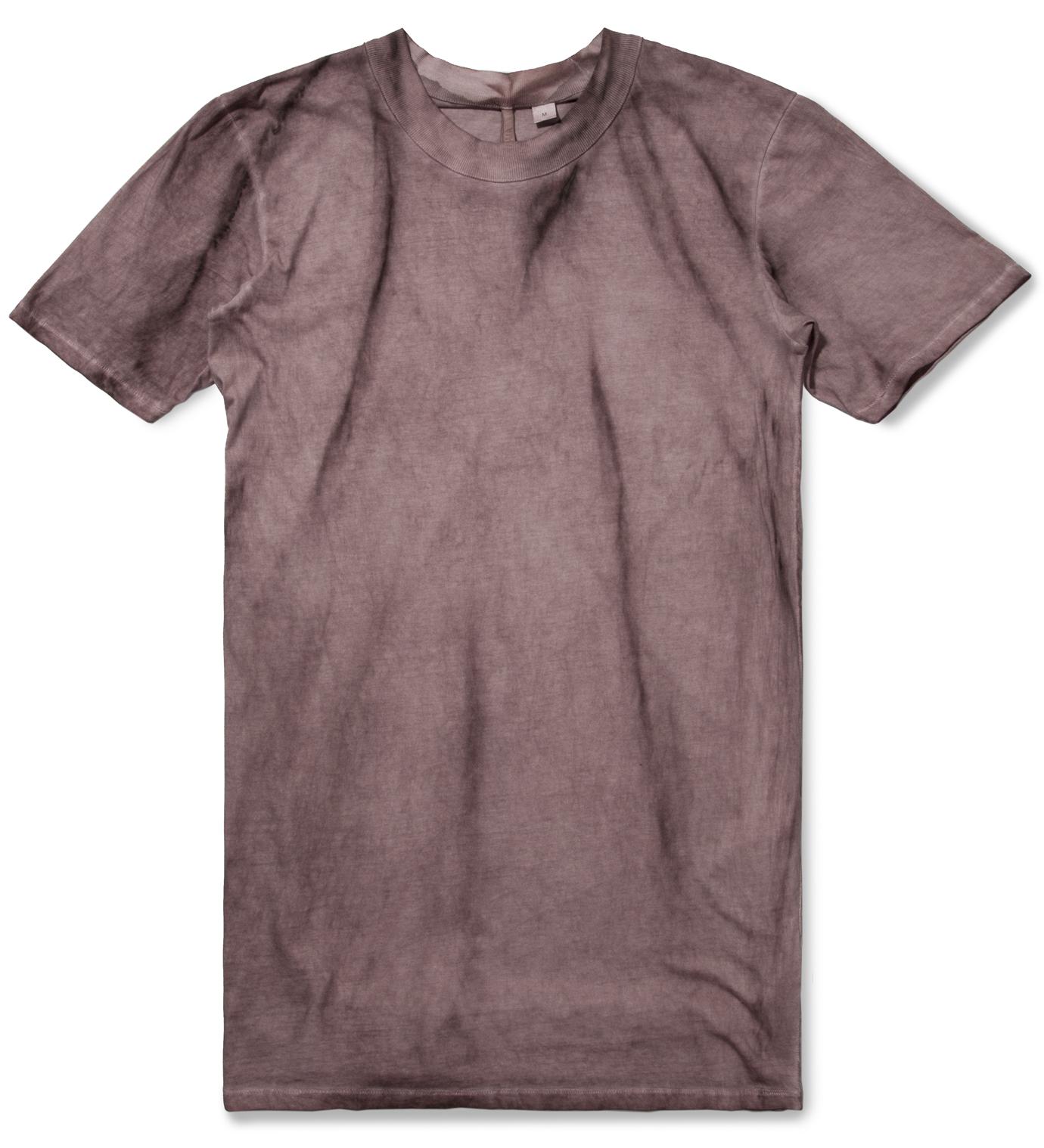 SILENT DAMIR DOMA Purple Tumion MNS Basic Ovalneck T-Shirt