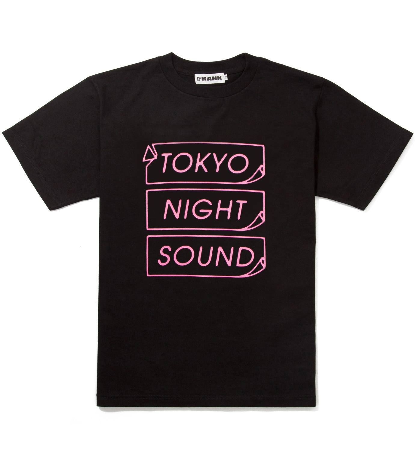 Frank Black/Pink Frank Logo T-Shirt