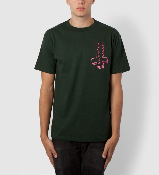 Odd Future Hunter Green OFWGKTA It's Us Cross T-Shirt