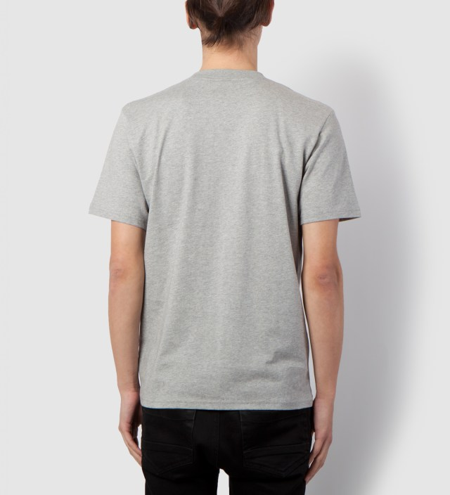 Carhartt WORK IN PROGRESS Heather Grey/Heather Navy Contrast Pocket T-Shirt