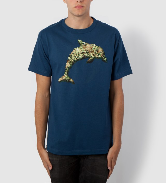 Odd Future Royal Blue Jasper Dolphin Weed T-Shirt