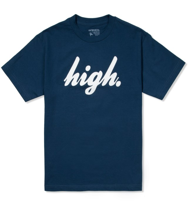Odd Future Blue/White Domo High T-Shirt