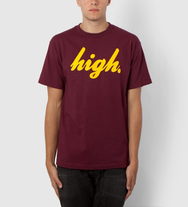 Odd Future Maroon/Yellow Domo High T-Shirt
