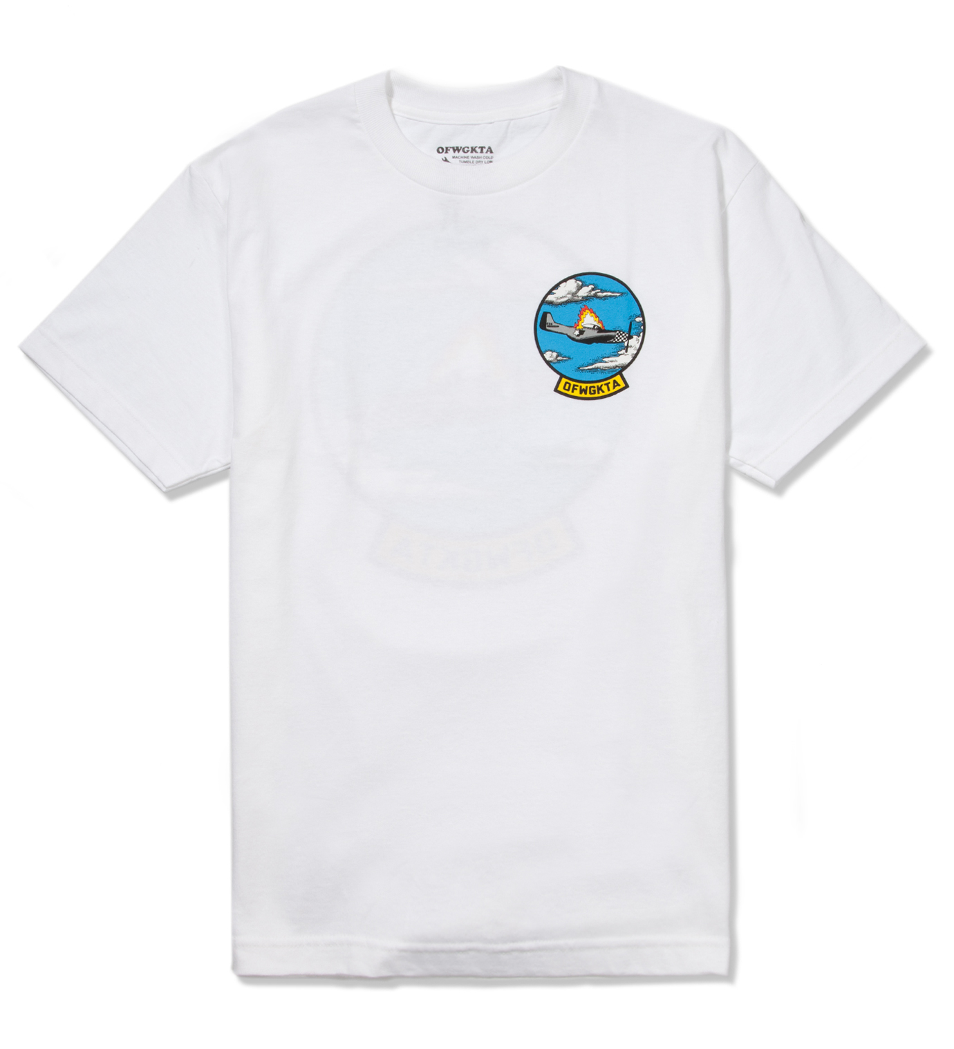Odd Future White Plane Crash T-Shirt