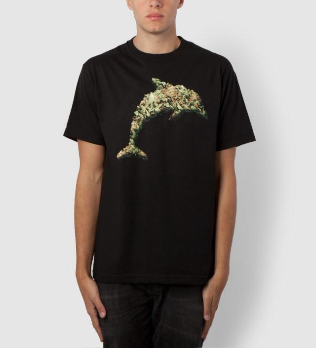 Odd Future Black Jasper Dolphin Weed T-Shirt