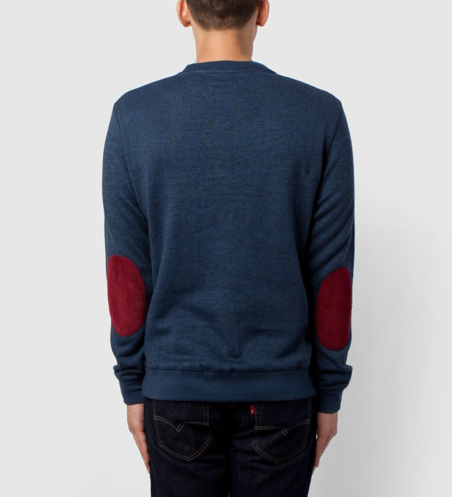 BWGH Navy/Multi Brooklyn Parle Francis Sweater