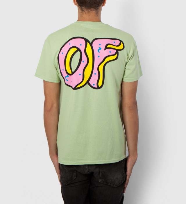 Odd Future Mint Green OF Donut T-Shirt