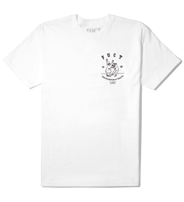FUCT White Re-Distribution T-Shirt