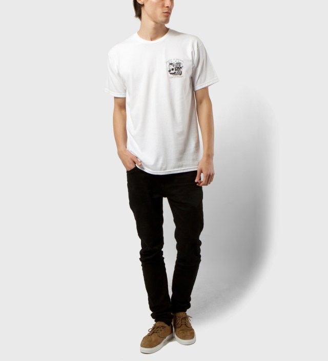 FUCT White Death Is Certain T-Shirt