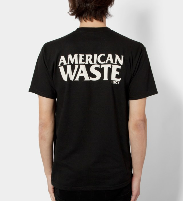 FUCT Black American Waste T-Shirt