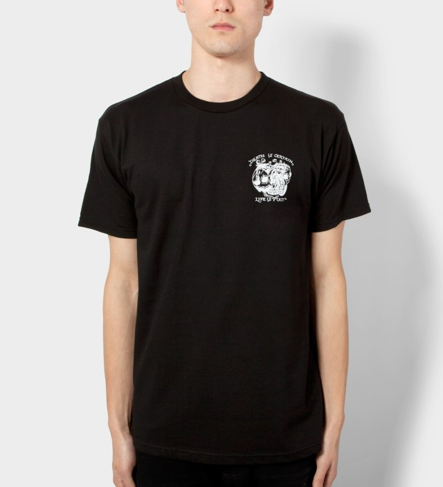 FUCT Black Death Is Certain T-Shirt