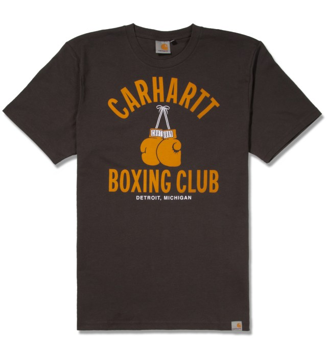 Carhartt WORK IN PROGRESS Aphalt/Multicolor Box Club T-Shirt