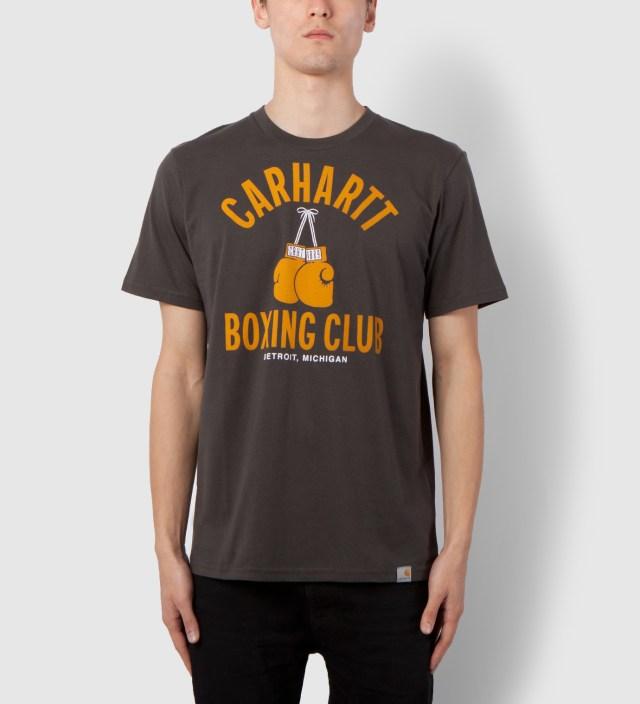 Carhartt WORK IN PROGRESS Aphalt/Multicolor Box Club T-Shirt