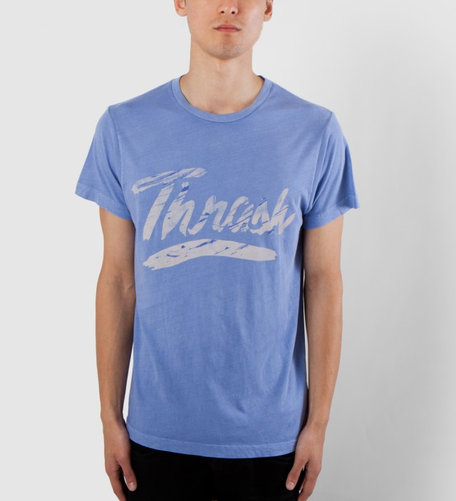 Warriors of Radness Trance Blue Thrash T-Shirt