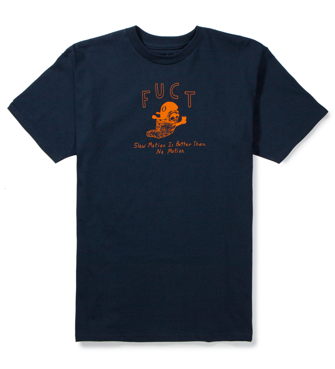 FUCT Navy Slow Motion T-Shirt