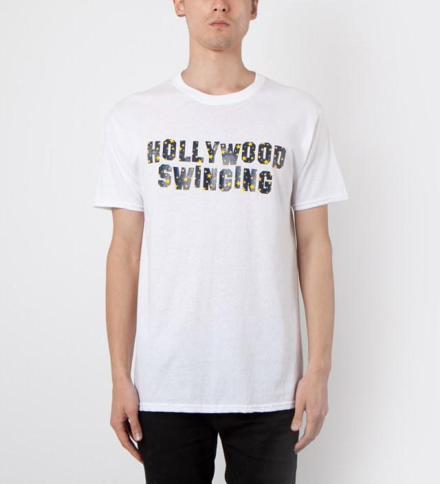 Mark McNairy White Hollywood Swinging T-Shirt
