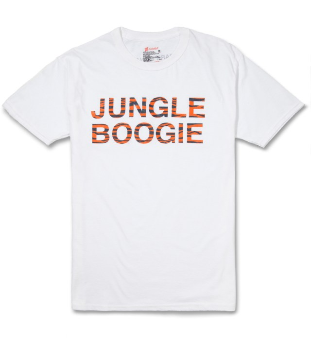 Mark McNairy White Jungle Boogie T-Shirt