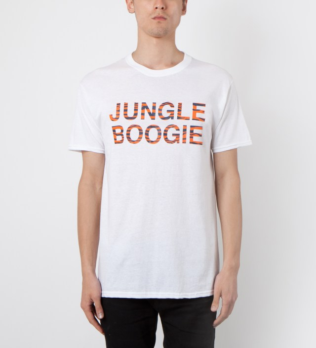 Mark McNairy White Jungle Boogie T-Shirt