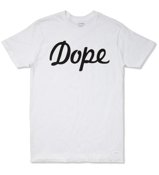 STAMPD White Dope Logo T-Shirt