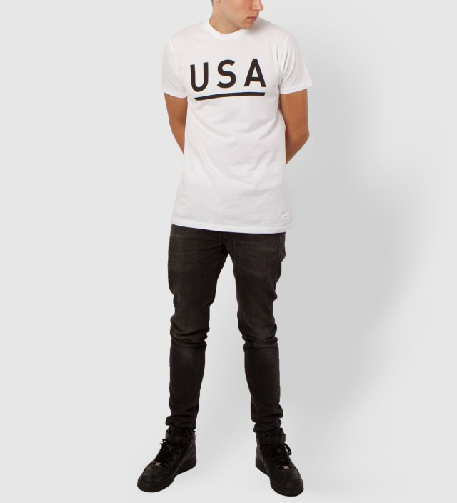STAMPD White USA T-Shirt