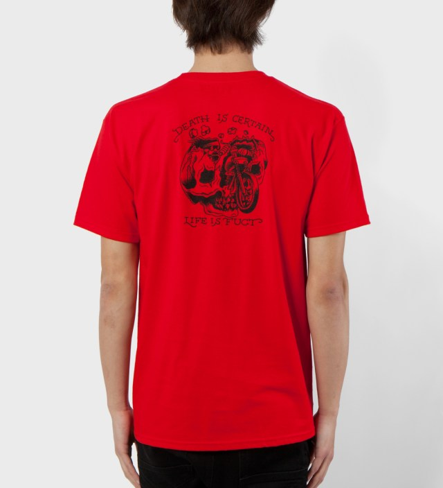 FUCT Red Death Is Certain T-Shirt