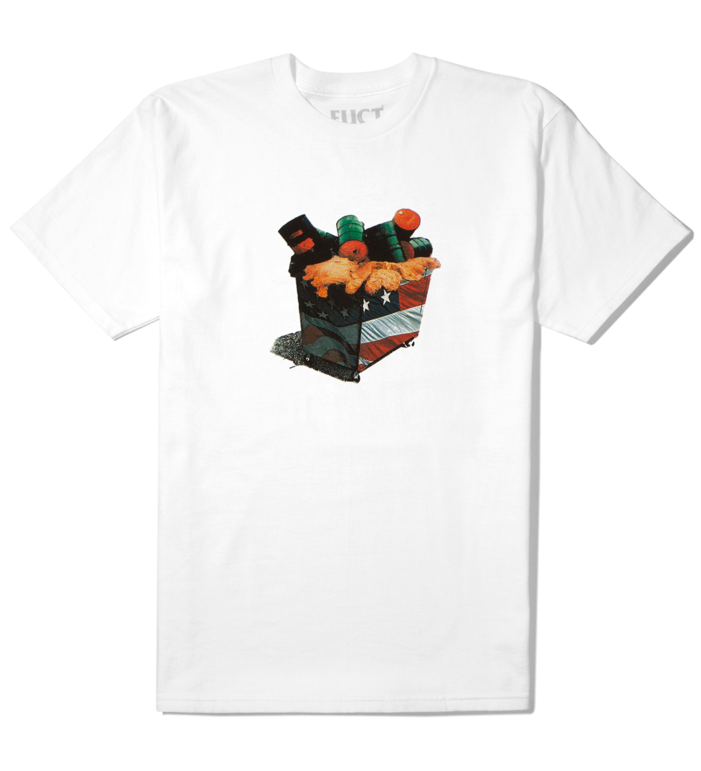 FUCT White American Waste T-Shirt