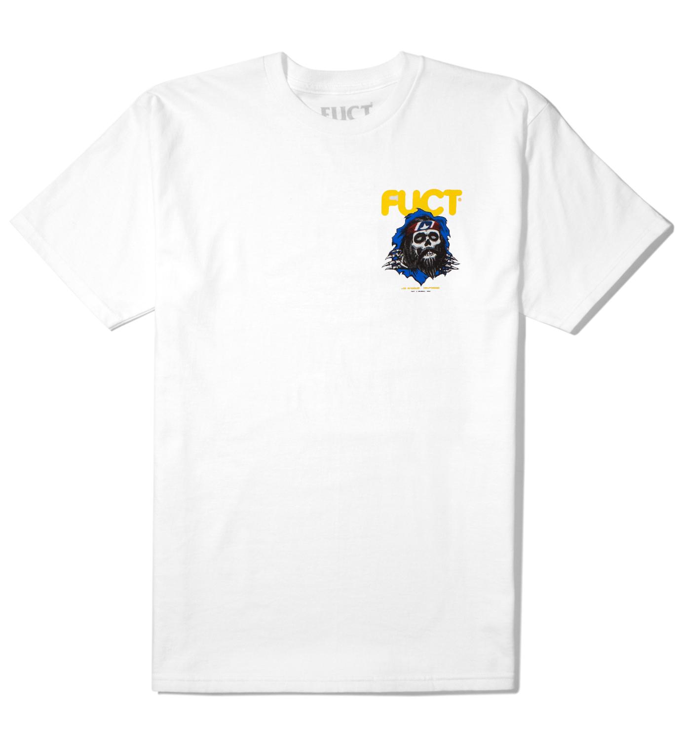 FUCT White Bong Ripper T-Shirt