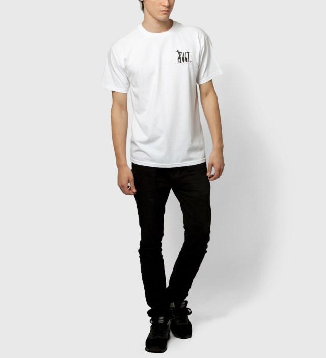 FUCT White Mr. 8Ball T-Shirt