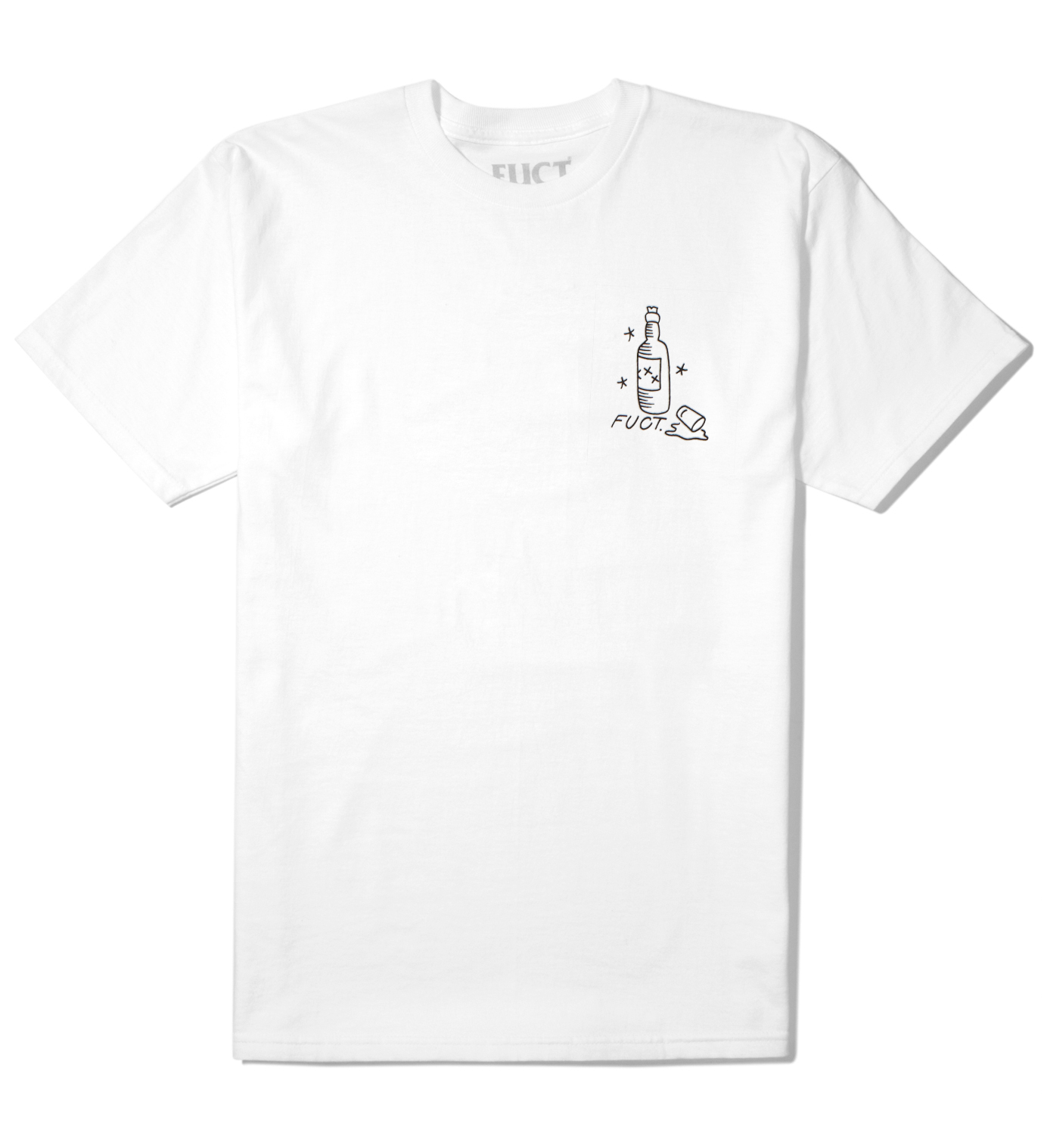 FUCT White You Like Long Time T-Shirt