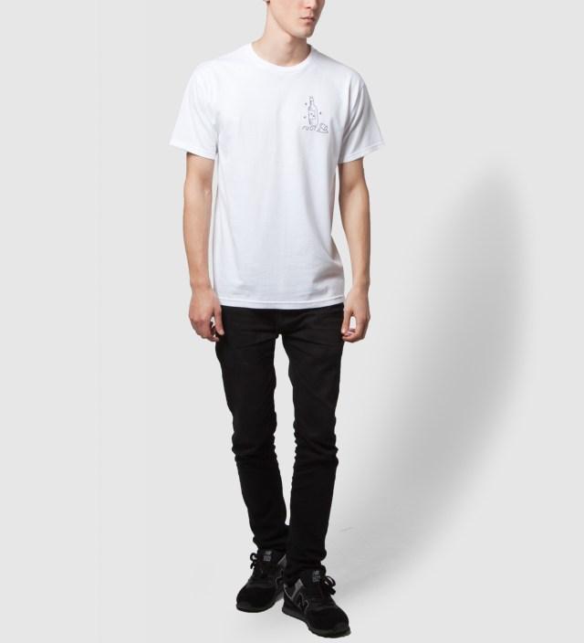 FUCT White You Like Long Time T-Shirt