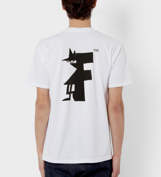 FUCT White Mr. 8Ball T-Shirt