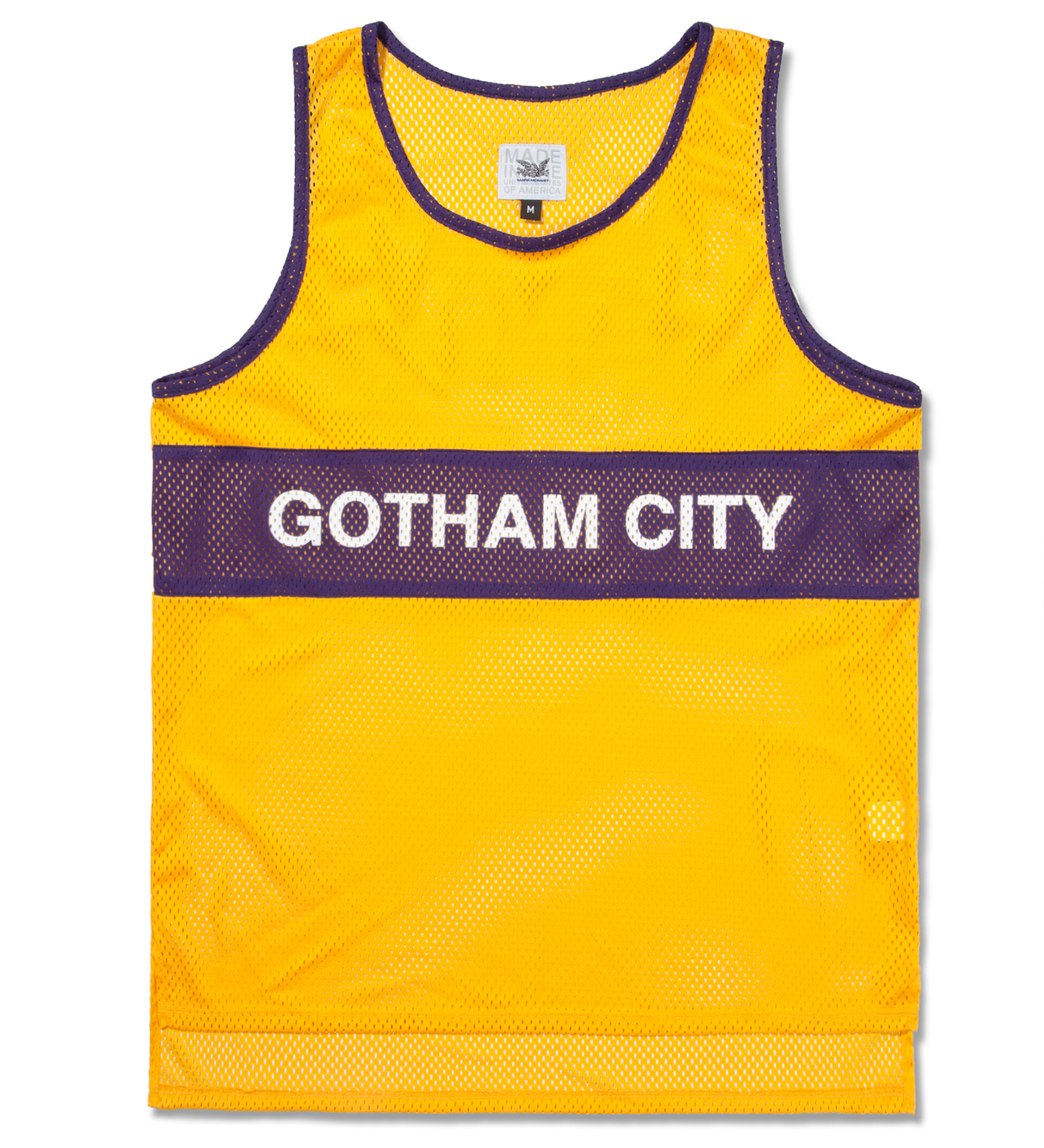 Mark McNairy Gotham City Track Tank
