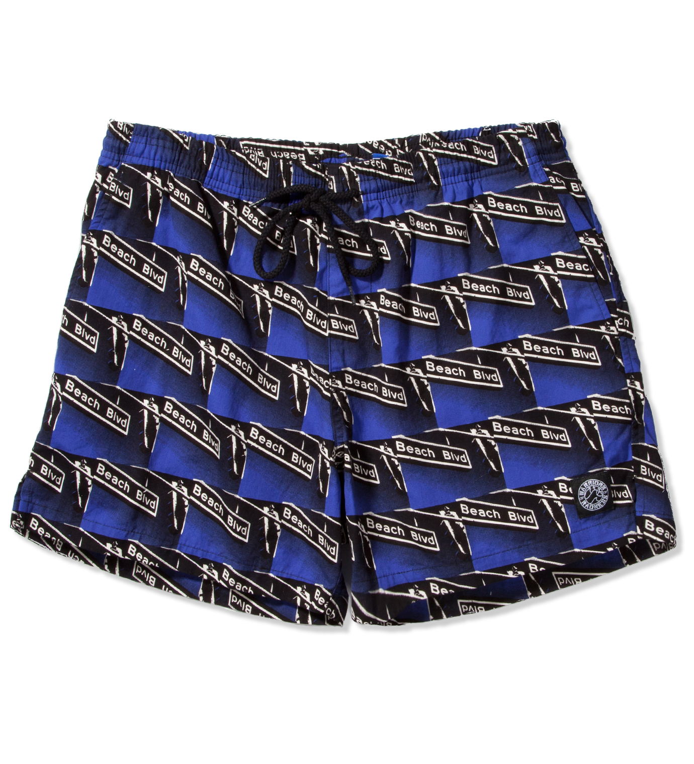 Warriors of Radness Blue Beach Blvd Shorts