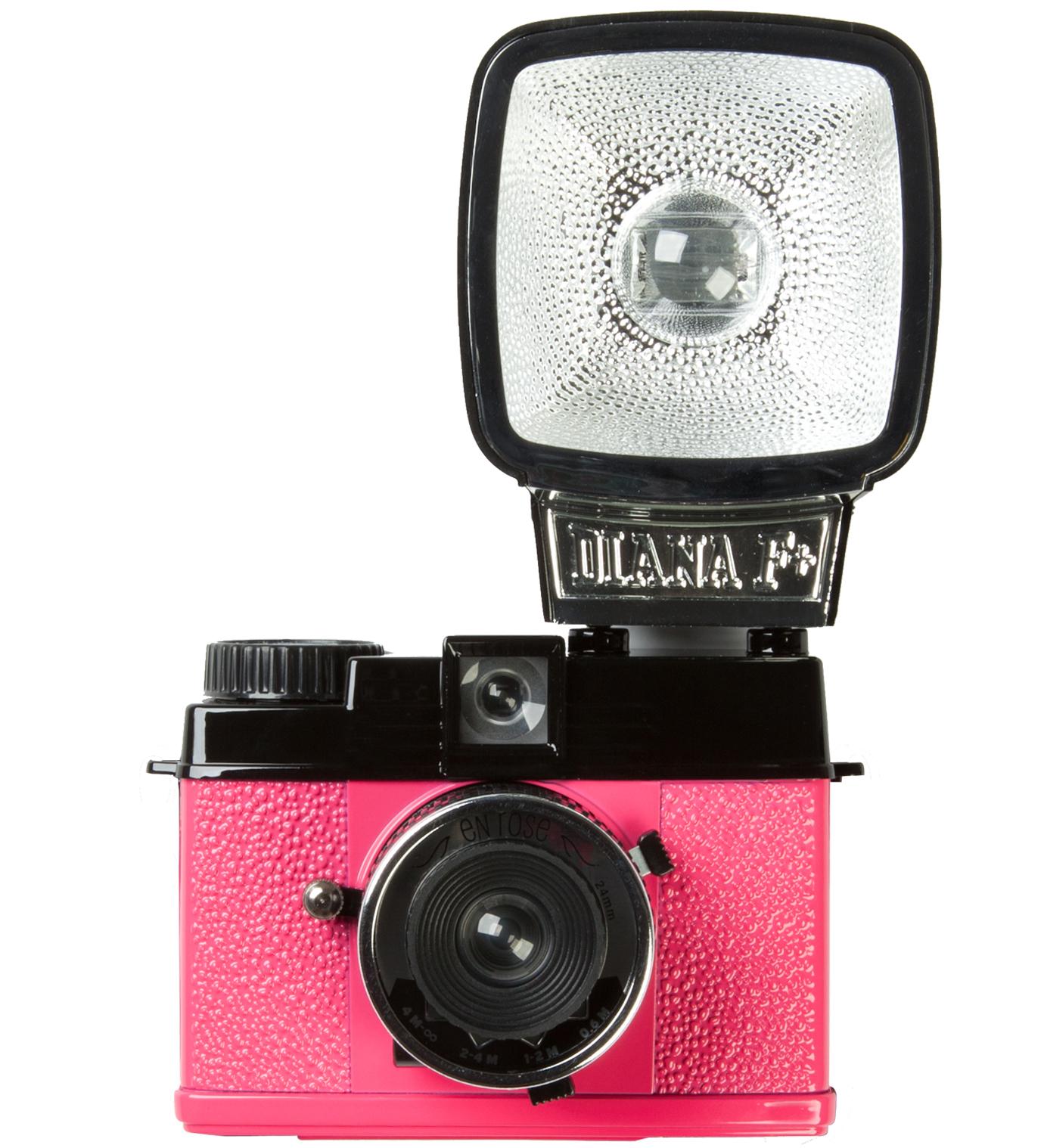 Lomography Diana Mini & Flash - En Rose