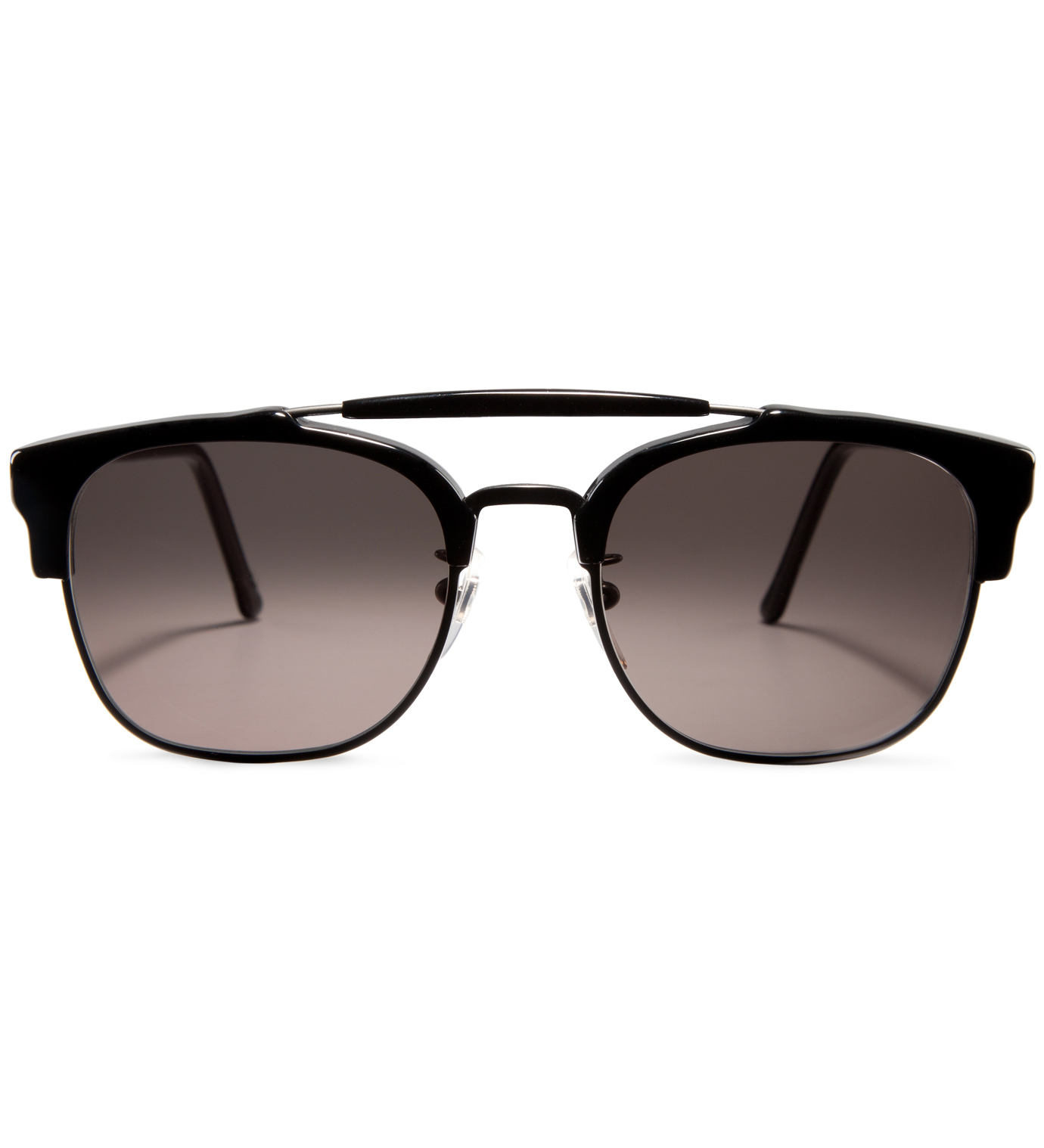 SUPER BY RETROSUPERFUTURE 49er Black Sunglasses