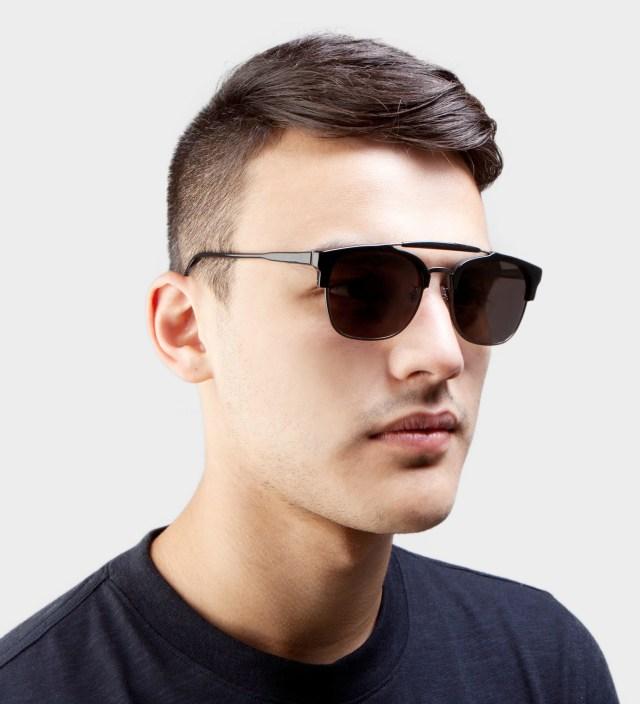 SUPER BY RETROSUPERFUTURE 49er Black Sunglasses